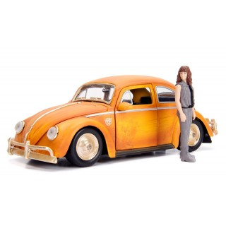 """Volkswagen Beetle Transformers """"Bumblebee & Charlie"""" 1:24"""