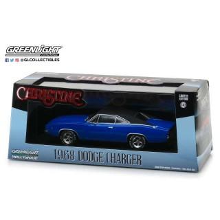 """Dodge Charger 1968 Blue Dennis Guilder's """"Christine"""" 1:43"""
