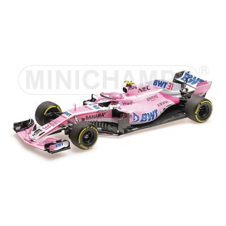 Sahara Force India Mercedes VJM11 31 Formula 1 2018 Esteban Ocon 1:18