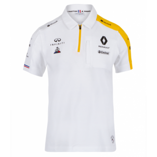 Renault Team F1 Polo White 2019
