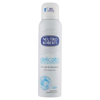 """Neutro Roberts Deodorante Spray """"Delicato"""" Extra Protezione 150 ml"""