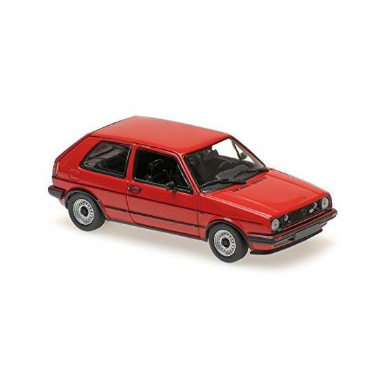 Volkswagen Golf GTI 1985 Red 1:43