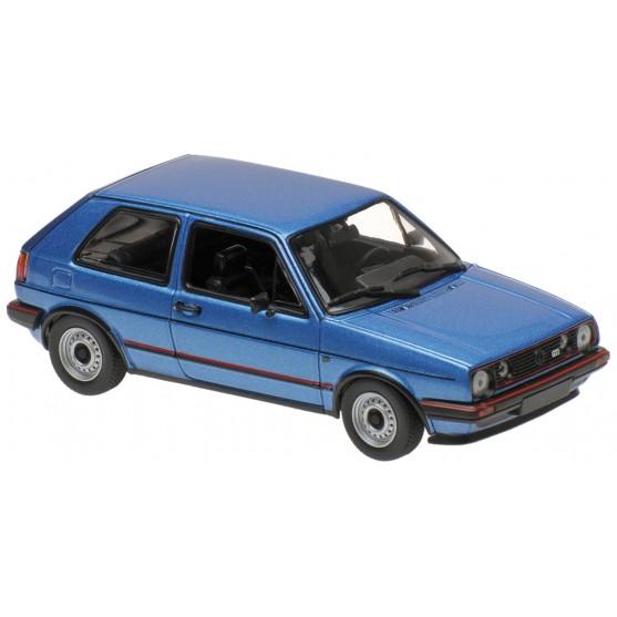 Volkswagen Golf GTI 1985 Blue Metallic 1:43