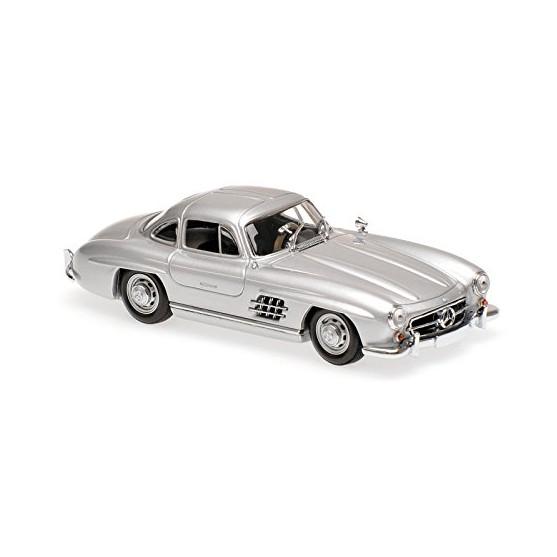 Mercedes Benz 300SL Coupè (W198) 1955 silver 1:43