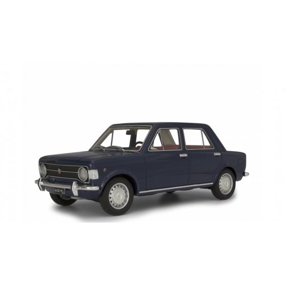 Fiat 128 1° serie 1969 Blu scuro 1:18