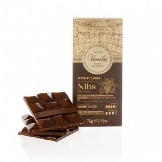 Tavoletta Di Cioccolato Montezuma 75% Nibs 70g Venchi