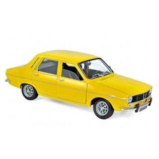 Renault 12 TS 1973 Yellow 1:18
