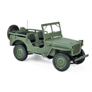 Jeep Willys 1942 Green 1:18