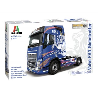 VOLVO FH4 Globetrotter Medium Roof Kit 1:24