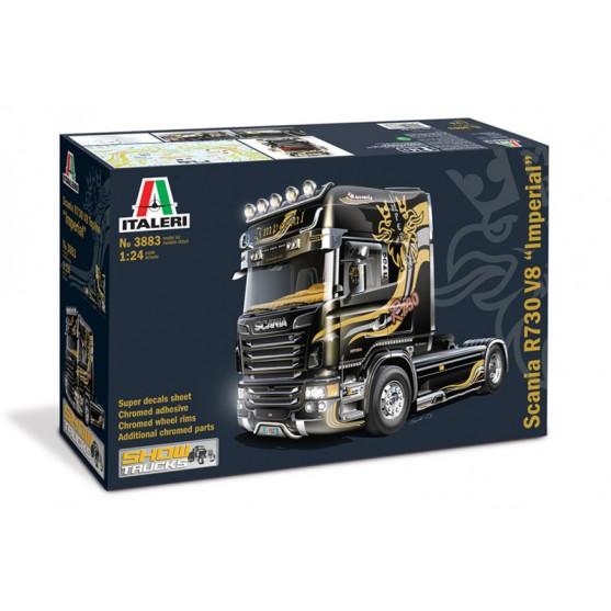 """Scania R730 V8 Topline """"Imperial"""" Acconcia Kit 1:24"""