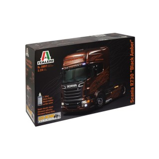 "Scania R730 V8 ""Black Amber "" Kit 1:24"