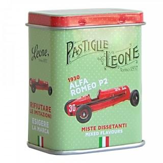 "Pastiglie Leone Lattina mignon ""Alfa Romeo P2"" 1930 Miste Dissetanti"