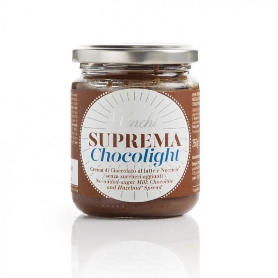 Venchi Crema Spalmabile al Cioccolato Suprema Chocolight 250g