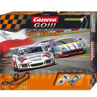 Carrera Go - Pista GT Speed + 1 Ferrari 458 GT2 + 1 Porsche GT