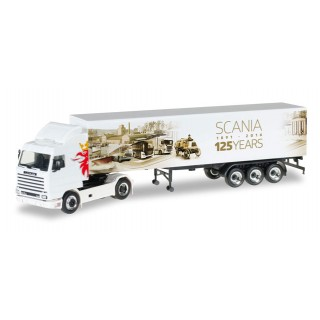 "Scania 141 semirimorchio telonato ""125 Years Scania"" 1:87"