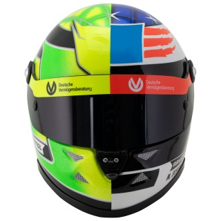 Mick Schumacher Casco Schuberth ™ 2017 Benetton B194 run Belgio Spa 1:2