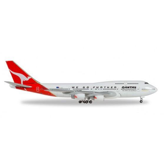 "Boeing 747-400 Quantas ""We Go Further"" 1:500"