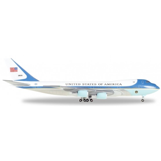 Boeing 747-200 VC-25 Air Force One 1:500