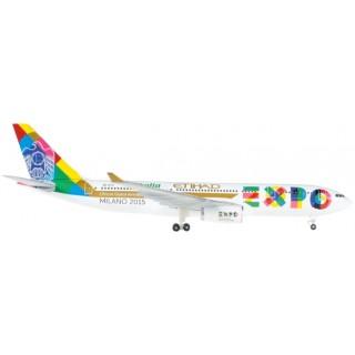 """Emirates Airbus A330-200 Etihad """"Expo Milano"""" 1: 500"""