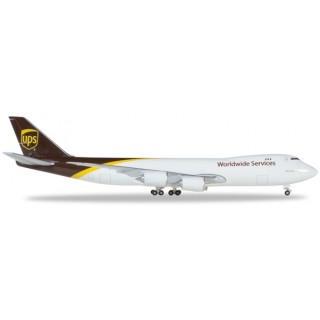 Boeing B747-8F UPS Worldwide Services N605UP 1:500