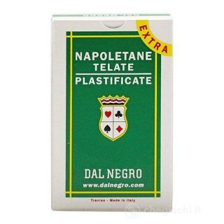 Carte Napoletane Extra astuccio verde 40 carte