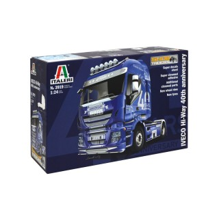 Iveco Stralis Hi-Way 40th Anniversario Kit 1:24