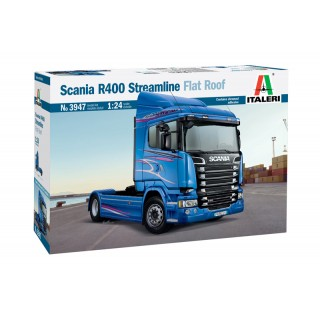 Scania R400 Streamline Flat Roof Kit 1:24