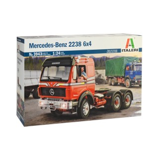 Mercedes-Benz 2238 Truck 6x4 Kit 1:24