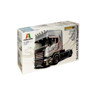 "Scania R730 V8 Streamline ""Silver Griffin"" Kit 1:24"