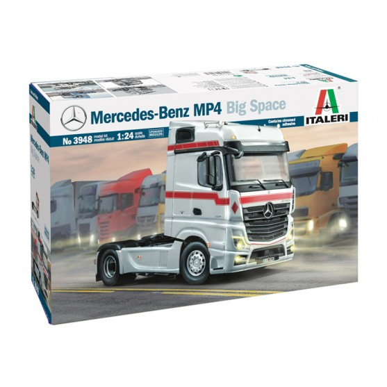Mercedes-Benz Actros MP4 Big Space Kit 1:24