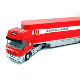 Iveco LD Eurostar trasporto Ferrari primi GP 2002 1:43