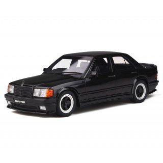 Mercedes-Benz 190E 2.3 AMG 1984 black 1:18