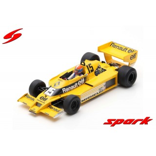 Renault RS01 F1 1978 4th USA GP Jean Pierre Jabouille 1:18