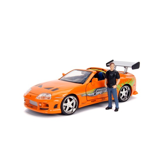 "Dodge Charger R/T Dom's 1970 Fast & Furious + Dominic ""Dom"" Toretto 1:24"