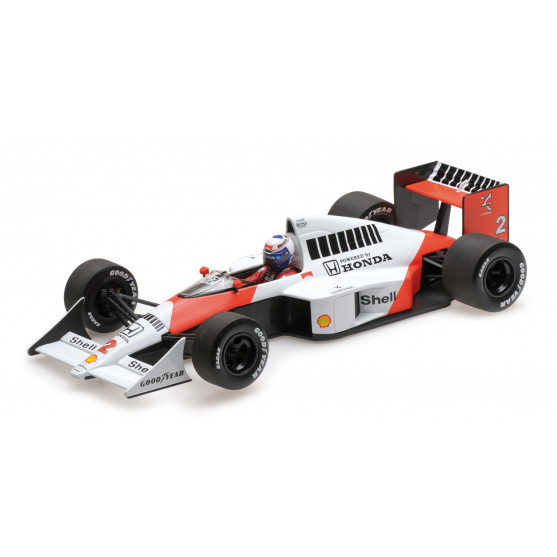 McLaren Honda MP4/5 World Champion F1 1989 Alain Prost 1:18