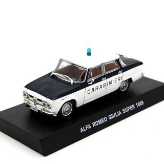 "Alfa Romeo Giulia  Super 1969 ""Carabinieri"" Bianco Blu 1:43"