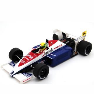 Toleman  Hart TG 184 F1 1984 Ayrton Senna 1:18