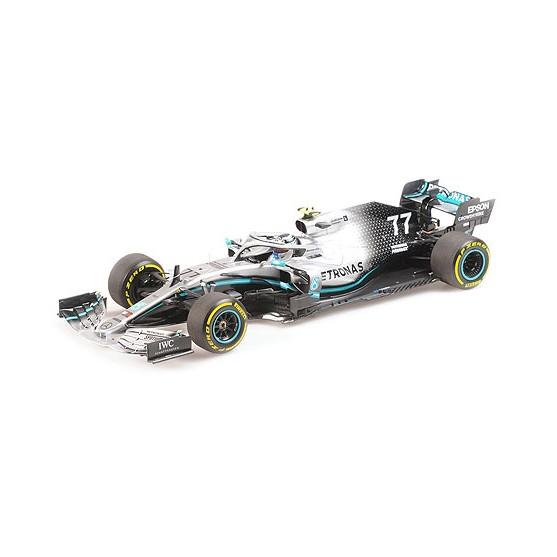 Mercedes AMG F1 W10 EQ Power+ F1 2019 Valtteri Bottas 1:18