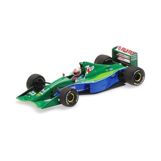 Jordan-Ford 191 7UP 4th place Canadian Gp 1991 Andrea De Cesaris 1:18