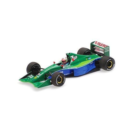 Jordan-Ford 191 7UP 4th place Canadian Gp 1991 Andrea De Cesaris 1:18