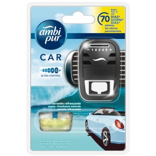 Ambi Pur Car Kit Acqua-Freschezza naturale