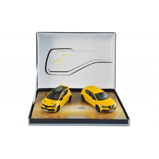 Renault Sport Cofanetto  - Clio R.S.16 & Megane R.S. 2017 (2 macchine) 1:43