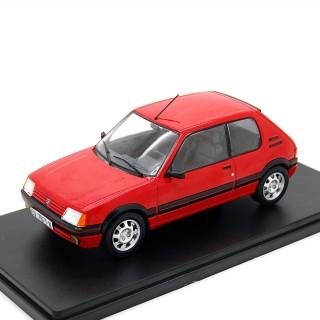 Peugeot 205 GTI 1.9 1986 Red 1:24