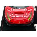 Ferrari 488 GTE 2017 Rosso Corsa 322 - Tetto In Carbonio 1:18