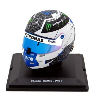 Valtteri Bottas Casco Bell Helmet F1 2019 Mercedes Amg Petronas 1:5