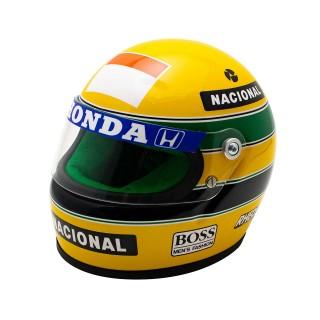 Ayrton Senna Bell Helmet Casco F1 1990 Team Mclaren Honda 1:2