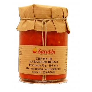 Crema di Habanero Rosso 90gr