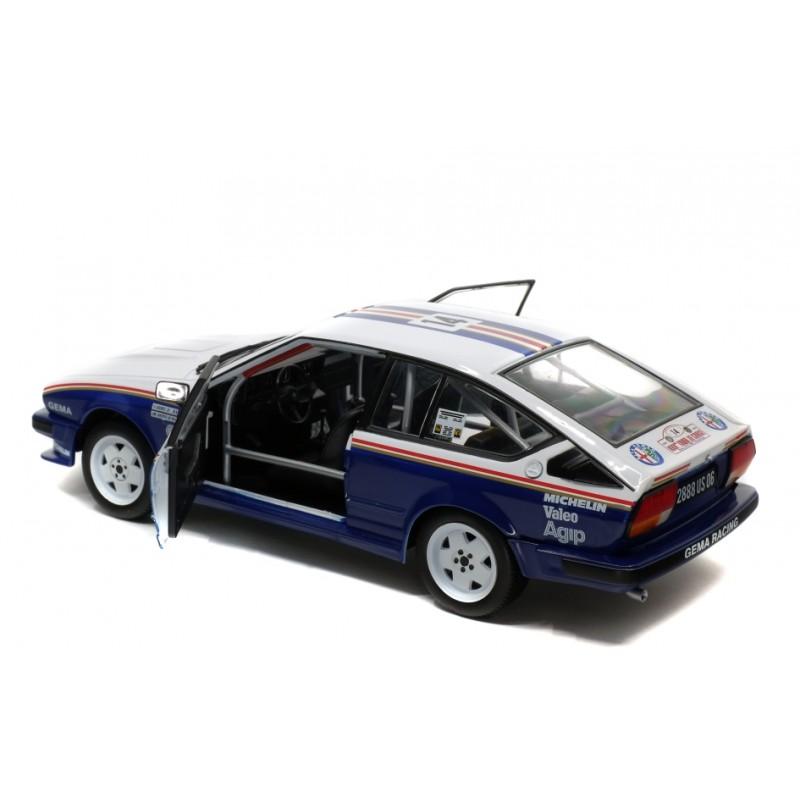 Alfa Romeo Alfetta Gtv6 14 Rally Tour De Corse 1986 Y