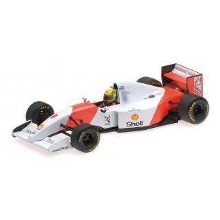 Mclaren Honda MP4/7 F1 1992 Ayrton Senna 1:43