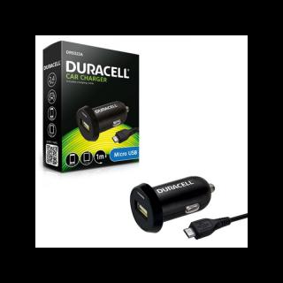Duracell Presa Accendisigari USB + Cavo Micro Usb 1mt